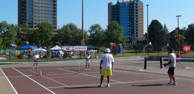 North Idaho Pickleball Association - McEuen Park, Coeur d'Alene
